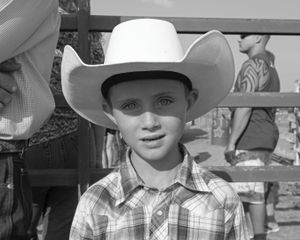 Cowboy. Glen's Ferry,  Idaho.