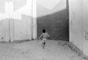 """""""Outside the Soccer Stadium"""" Antananarivo 1992"""