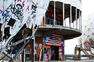 Teufelsberg-Freedom is the only way