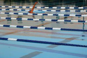 Swimming Pool at Loyola Marymount University , Los Angeles