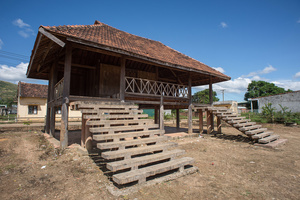 Brau communal house in Kon Tum Province