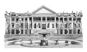 Deoksugung Palace(1910) / 2017 / Archival pigment print / 75x125cm