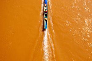 Fisherman in Northern Laos