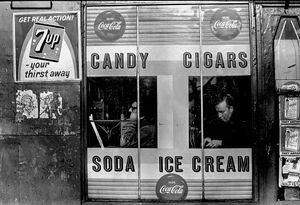 Candy Cigars Soda Ice Cream, NYC, 1967