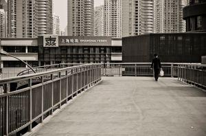 Shanghai Ferry. Shanghai, China.