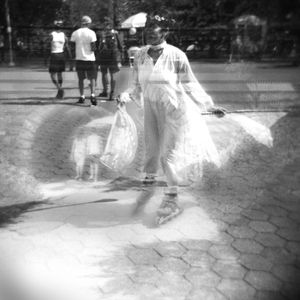 Central Park, NYC #2 (Double Exposure)