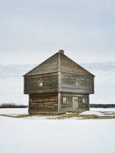 Fort Edward Blockhouse, Windsor, Nova Scotia, 2015