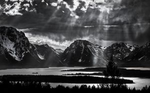 Clearing Storm, Tetons