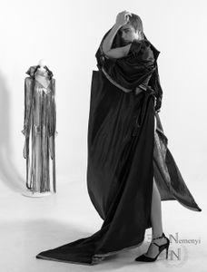 Homenaje a los grandes diseñadores y retratistas de moda en blanco y negro