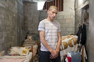 "Mohammad (Nazareth, Muslim) From the series ""Eighteen"" © Natan Dvir"