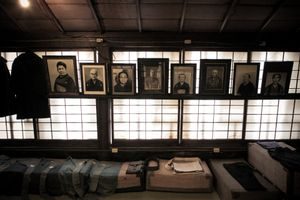 Portrait of ancesters