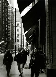 Stopping to Smell the City, Chicago, IL, 2000                                                                    © Kimberly Schneider