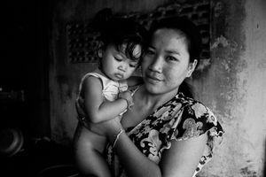 Mother & Child in Laos