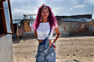 Cindy. Gugulethu Township, South Africa, 2015.