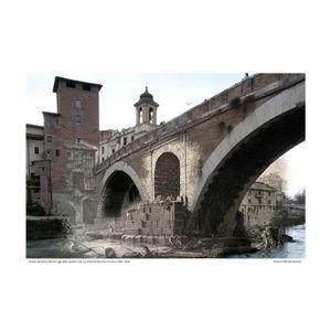 Ponte Fabrizio [Le Antichitá romane IV] circa 1784 / 2016