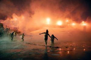 """From the series """"Jours de unit, Nuits de jour"""" © Elena Chernyshova, Circulations Festival"""