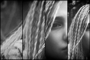 Girl With the Braids Series - Darkness