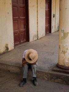 Elderly Man Resting, Viñales, Cuba