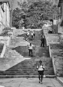 Escalinata de Los Maceos, 2004