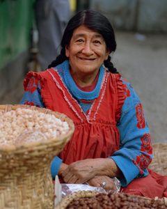 ECUADOR WOMAN STREET VENDOR