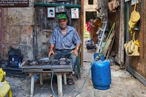 Labeeb, junk dealer in Tyre.