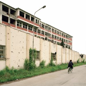 The Borovo Shoe Factory was once the largest employer in the area with over 20,000 workers. © Colin Dutton