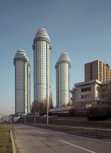 Sparrow Hill Towers, Moscow, 2010