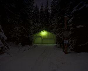 Night Light, Washington State, USA