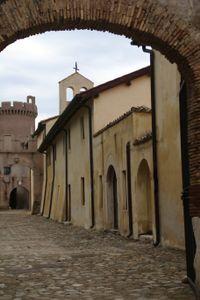 Le borgo du Chateau de Santa Severa