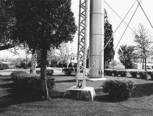 8178.13, Oakfield water tower, Oakfield, WI, 1981