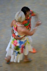 Mall of Berlin, Potsdamer Platz, tango dancers, august 2018, Nr. 6