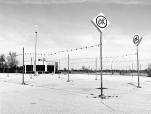 8168.1, former Harrison OK Used Car Lot, Janesville, WI, 1981