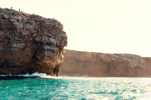 A fishermen's rock