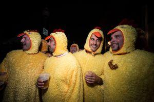 Chicken Dudes, Leavenworth WA, October 2014