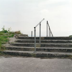 Steps and Handrail III, An Trá Mór, Inveran, Co. Galway, 2012