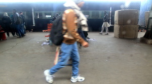 4) The mysterious black backpack!