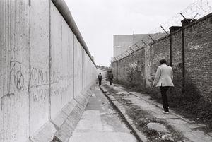 Berlin Wall 1980 #3 Sunday Walk 2