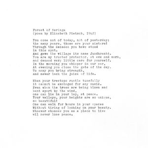 Translation of poem
