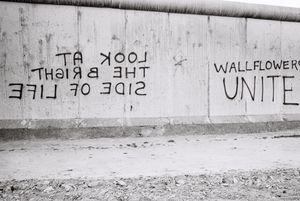 Berlin Wall 1980 #7 Wallflowers