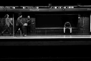 Subway Station Diagonal
