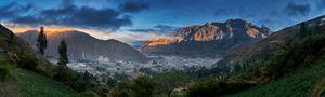 Sunrise over Calca, Peru
