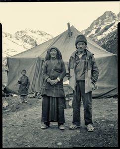 Sonam Lamu and Galzin Tamang, goatherders, Dolpo, Nepal.