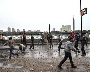 Clashes on Corniche el-Nil after the verdict of Port Said of January 28. © Domenico D'Alessandro