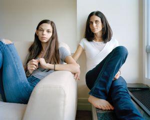 Marina and Natasha, Boston Massachusetts, 2014