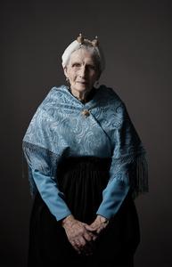 A series of portraits of  Dutch (Scheveningen) ladies in traditional dress (2)