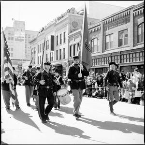 Reenactors on Parade