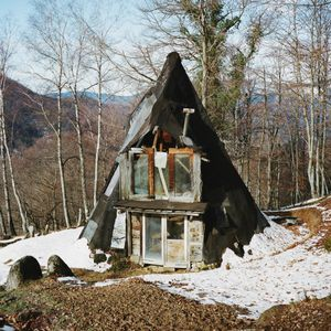 A tipi, The Pyrenees, France, 2012 © Antoine Bruy