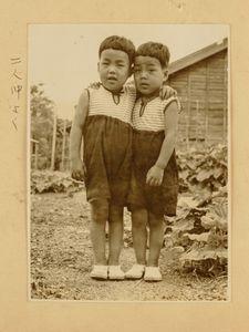 Sugako's twin sons in 1950's