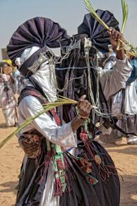 Bianou dancers; Cure Salée festival