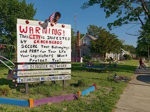 Rogue Sign, Eastside, Detroit 2011